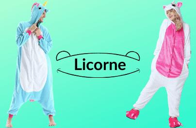Grenouillère Licorne